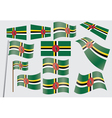 Commonwealth of Dominica Flag vector image vector image