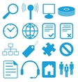 Design flat icons set vector image vector image