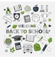 Doodle school vector image vector image