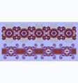 ethnic seamless stripe pattern decorative vector image vector image