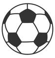 Football ball flat icon