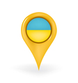 Location Ukraine vector image vector image