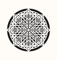 sacred geometry 0143 vector image vector image