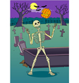 Skeleton Cartoon vector image