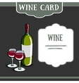 WIneCard5 vector image vector image
