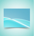 abstract waves set 9 vector image vector image