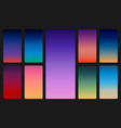color sky background on dark sunset and sunrise vector image vector image