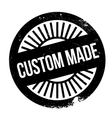 Custom made stamp vector image vector image