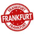 Frankfurt sign or stamp