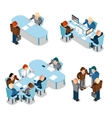Human resources and business people vector image