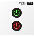 power sphere buttons isolated vector image