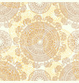 seamless light pattern with ethnic elements and vector image vector image