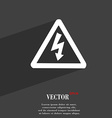 voltage icon symbol Flat modern web design with vector image