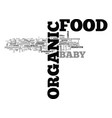what heck is organic food anyway text word vector image vector image