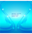 Abstract blue curve background graphic vector image