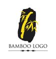 BAMBOO LOGO template vector image vector image
