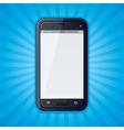 Cellphone Retro Background vector image vector image