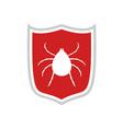 computer virus protect symbol vector image