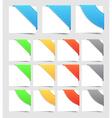 Design elements corners vector image