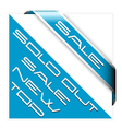discount banner vector image vector image