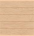 five wooden boards in flat design vector image