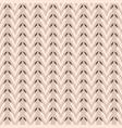 folk art heart weave stripes texture seamless vector image vector image