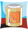 grain and cereal products vector image vector image
