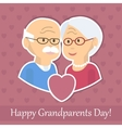 Grandparents Day Card vector image vector image