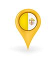 Location Vatican City vector image vector image