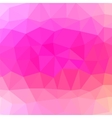 Mosaic Pink Background vector image vector image