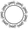 round border vector image vector image