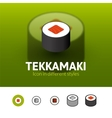 Tekkamaki icon in different style vector image vector image