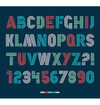 Retro stripes funky fonts settrendy elegant retro vector image
