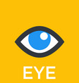 eye icon sign vector image