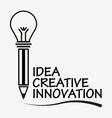 Creative Pen Concept vector image vector image