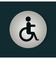 disable person signal isolated icon vector image vector image