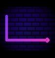 futuristic sci fi modern neon pink gradient vector image