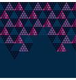 geometry black header vector image vector image