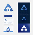 real estate logo premium vector image