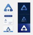 real estate logo premium vector image vector image