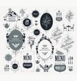 set design elements for restaurant menu