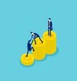success a good business team concept vector image