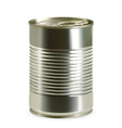 Tin can detailed photo realistic vector image vector image