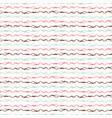 trendy pastel knitting wool yarn string stripes vector image
