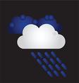 140715 Raining vector image vector image