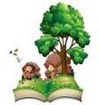Children book vector image vector image