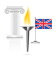 England Flag vector image vector image