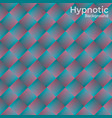 hypnotic background vector image vector image
