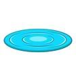 Lake icon cartoon style vector image vector image