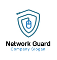 Network Guard Design vector image